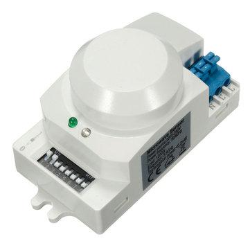 سك-600 أس 220 فولت -240 فولت 5.8 جيجا هرتز الميكروويف الرادار الاستشعار الجسم الحركة هف الكاشف ضوء التبديل