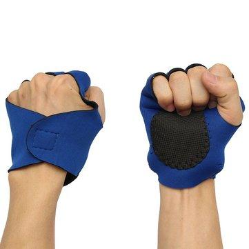 Половина пальца задействуя велосипед тренировки фитнес охотничьи перчатки на открытом воздухе перчатки спортивных упражнений