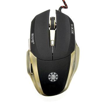 Оригинальные s-ecde ск-m6200 2800 точек на дюйм Проводная оптическая мышь для игр