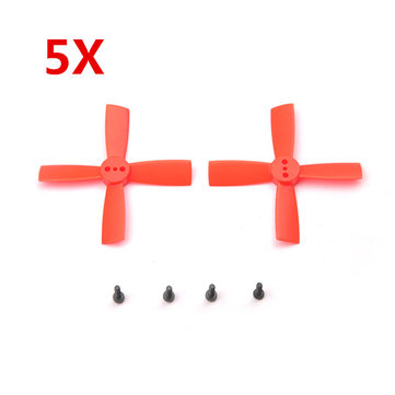 5 Pairs Eachine 2035 50mm 4 Blade Propellers ABS For Eachine Aurora...