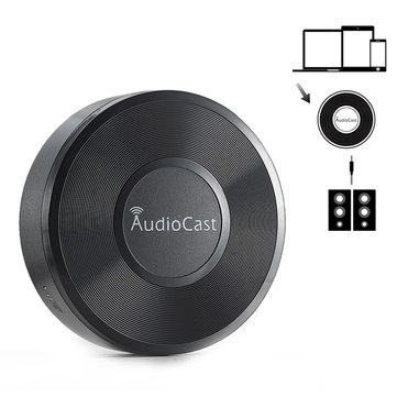 AudioCast M5 Airplay DLNA Music 3.5mm Adaptador inalámbrico Audio Receptor Transmisor para dispositivos inteligentes