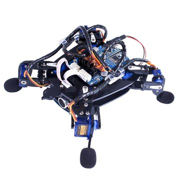 SunFounder Rollflash APP Control Bionic Robot Turtle IR Infrared Obstacle Avoidance for Arduino Nano