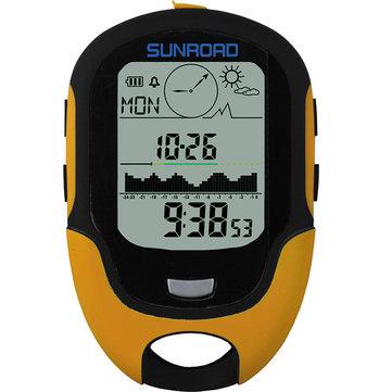 SUNROAD700-9000mLEDDigitalealtimeterBarometer Kompas Waterdichte altimeter Climbing Fishing Tool