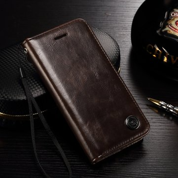PC Leather Full Cover Wallet Case Cover With Card Cash Slots Stand Holder For Apple iPhone 7 4.7