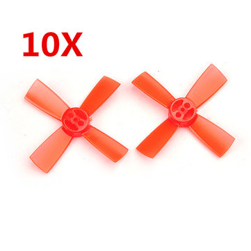 10 Pairs Racerstar 1735 43mm 4 Blade PC Propeller 1.5mm Hole For 11xx Motors RC Drone FPV Racing Multi Rotor