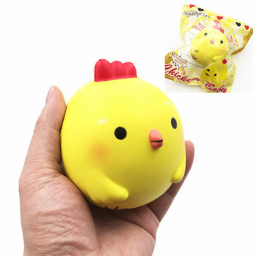 Squishy Fun Baby Chicken : Squishy Fun Yellow Chicken Squishy 10cm Slow Rising Original Packaging Collection Gift Decor Toy ...