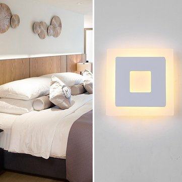 18w led acrilico piazza coperta applique da parete - Applique camera da letto ...