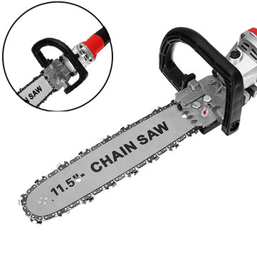 11.5 inch Chainsaw Bracket Change Angle Grinder Into Chain Saw