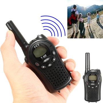 ミニワイヤレストランシーバーハンドヘルドラジオインターホン400-470MHz 22CH子供
