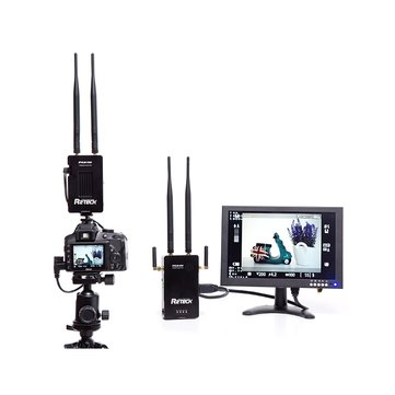 R2TECK BeamLink DVLM-100 WiFi/5G 25mW-800mW HD Video Transmission FPV System For Phone Broadcast