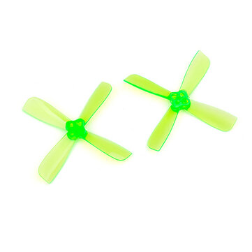 10 Pairs Racerstar 2435PRO 2.4inch PC 4-blade Propeller 1.5mm Mounting Hole for...