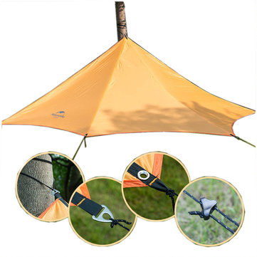 Naturehike Tent Zon Shelter Pentagon Luifel Luifel Zonnescherm Outdoor Camping Anti-UV Waterdicht Shade-loods