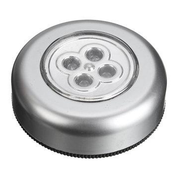Acampar viajar baño 4 luces llevadas coche de la lámpara toque le dio unas palmaditas