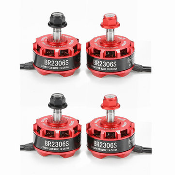 Buy 4X Racerstar Racing Edition 2306 BR2306S 2700KV 2-4S Brushless Motor For X210 X220 250 RC Drone FPV Racing for $35.49 in Banggood store