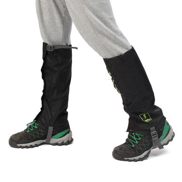 Outdoor Climbing Gaiters Snow Legging Shoes Cover Waterproof Hiking Pants Protector