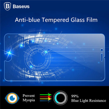 BASEUS 0.3mm Anti-Blue-Ray Tempered Glass Screen Protector For Apple iPhone 6 6S 6Plus 6S Plus