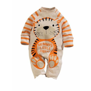 Infant Romper Jumpsuit Kids Baby Boy Girl Warm Bodysuit Clothes Outfit