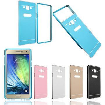 Aluminum and PC Hard Back Bumper Case Cover For Samsung Galaxy A7/A7000