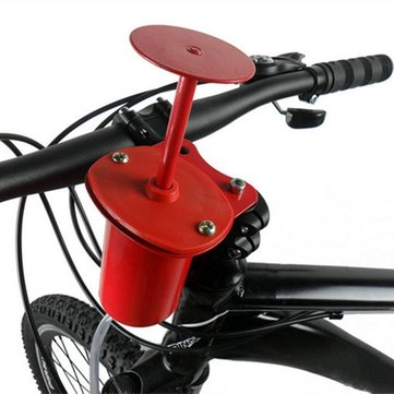 120dB Cycling Bike Fiets Air Horn Pump Bell Alarm Super Loud Professional Red