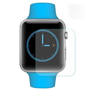 2-pack Enkay 2.5D gehard glas displayfolie voor Apple Watch-serie 1 42 mm