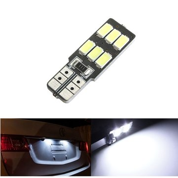 1pc t10 194 168 W5W 6 di SMD 5630 LED auto luce zeppa canbus bianco