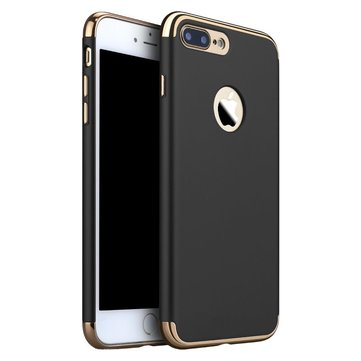 3 In 1 Plating Ultra Thin Hard PC Case Cover Voor iPhone 7 Plus/8 Plus