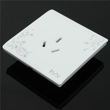 Kempinski Multifuntion 3 Hole Socket Outlet Panel 110-250V