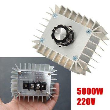 5000W أس 220V عالية الطاقة منظم الإلكترونية سر الجهد المنظم وحدة