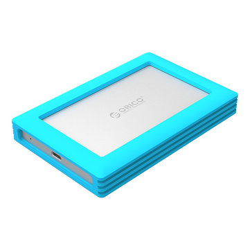 ORICO 2789C3 Type-C Hard Drive HDD Behuizing Met Silicone Cover voor 2.5inch HDD
