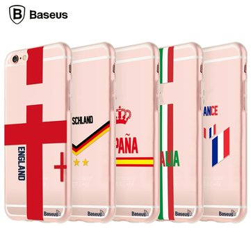 BASEUS Flag European Cup Fans Series TPU Cover Case Voor iPhone 6 6S 538.840