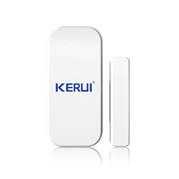 KERUI D025 433MHz Wireless Magnetic Door Window Alarm Sensor Detector Contact System