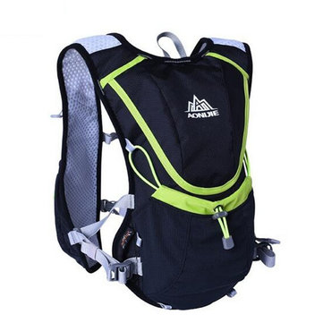 8L AONIJIE Hardlopen Vest Backpack Sport Camping Hydratatie waterzak Bag Holder
