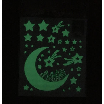 Glow In The Dark Home Decor Shining Star Luminescence Sticker