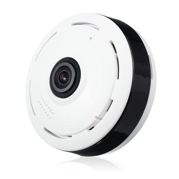 ホワイトフィッシュアイパノラマVR IPカメラWIFIワイヤレス360度の3D 1  -  3Mpのネットワークカメラ