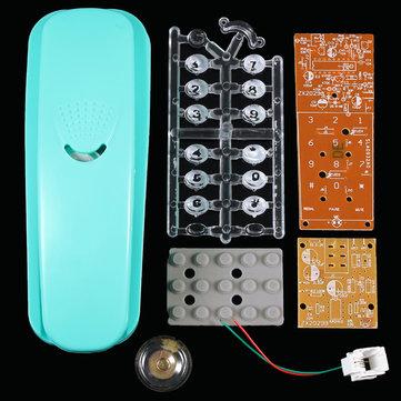 DIY Bread Type Telefoon Kit Elektronische Component Assemblage Onderwijs Experiment