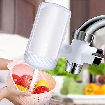 Honana HN-WP006 Filtro dell'acqua del rubinetto 5 filtro della fase Filtro domestico con la parte interna intercambiabile della qualità del cibo ABS Bianco