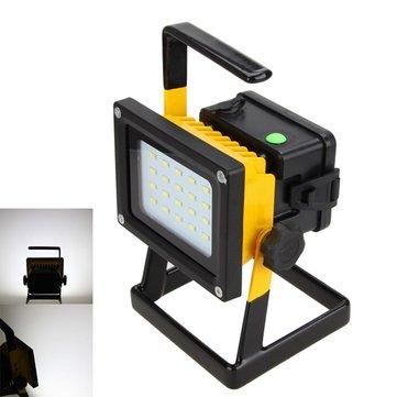 Nova 10w 20 LED exterior inundação luz lâmpada de acampamento de emergência portátil