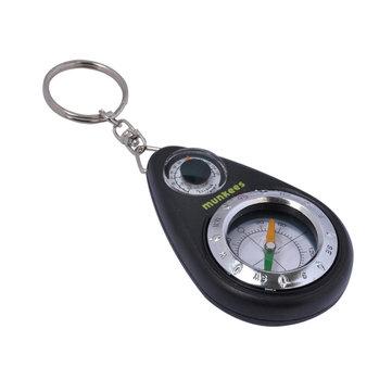 Munkees 3154 EDC 3 in 1 Multifunctional Keychain เข็มทิศวัดอุณหภูมิพร้อมพวงกุญแจ