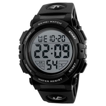 SKMEI1258야외스포츠패션남자 다기능 크로노 그래프 방수 디지털 시계