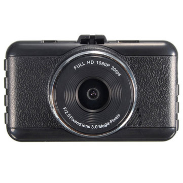 3 inch 1080P HD Car Vehicle Camera DVR Digital Video Recorder G-Sensor Night Vision