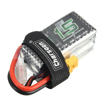 Charsoon 14,8V 1500mAh 50C 4S Lipo Batterij XT60 Plug With Strap