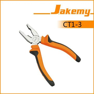 JAKEMY JM-CT1-3 6 Inch Hardware tools Non-slip Handle Parallel-jaw Vice Wire Cutter Combination Pliers