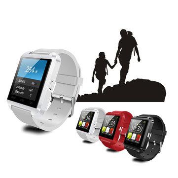 U8 originale Sport Watch u bluetooth bracciale orologio sportivo da polso intelligenti