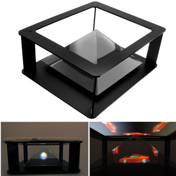 Holografische Tablet PC 3D Holographic Projectie Pyramide Projector Stand Voor 6-12 inch iPad 1 2 3 4 5