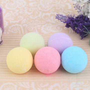 1PC Bathroom Aromatherapy Type Body Cleaner Hand Gift Bath Ball Bomb Salt Moisturizing Blasting Germicidal
