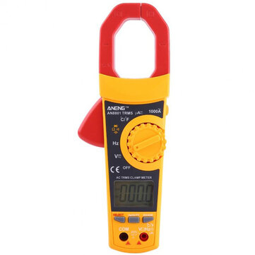 ANENG AN8801 Auto Range Digital True RMS Clamp Multimeter AC/DC Voltage Current Resistance Temperature Tester Portable Meter