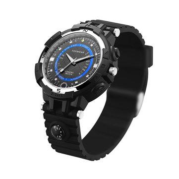 FOX8야외스포츠시계720P와이파이 16G 자동차 자전거 운전 레코더 컴퍼스 하이킹 손목 시계