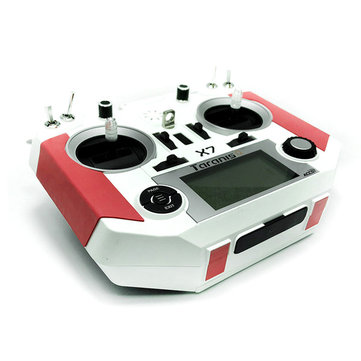 Non-Slip Cortex Grip & Foot Pad Red Black for FrSky Taranis Q X7/X7S RC Drone Transmitter