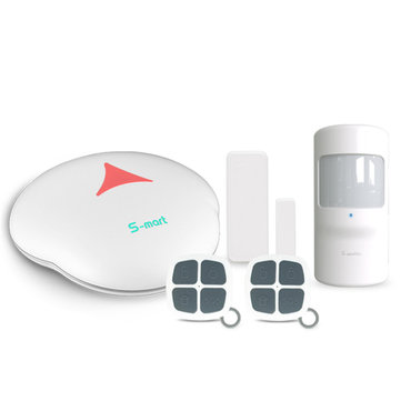 Wifi PSTN Smart Home Alarm System pour IOS Android APP Remote Control with PIR Detector Capteur de porte