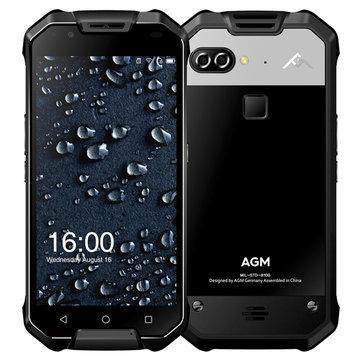 AGMX25.5''AMOLEDIP68 12MP двойственный Rear камераs 6гигабайт RAM 64гигабайт ПЗУ Snapdragon 653 6000mAh Смартфон